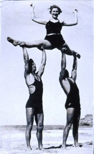 photo credit: Acrobatics on the beach via photopin (license)
